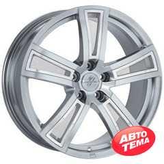 FONDMETAL TECH6 Shiny Silver - Интернет магазин шин и дисков по минимальным ценам с доставкой по Украине TyreSale.com.ua