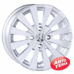 REPLICA Peugeot JT 1147 Silver - Интернет магазин шин и дисков по минимальным ценам с доставкой по Украине TyreSale.com.ua