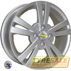 Купить REPLICA Daewoo Z614 S R14 W5.5 PCD4x100 ET44 DIA56.6