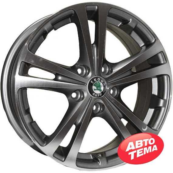 REPLICA SKODA Z616 DGMF - Интернет магазин шин и дисков по минимальным ценам с доставкой по Украине TyreSale.com.ua