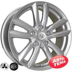 REPLICA Hyundai 7311 SIL - Интернет магазин шин и дисков по минимальным ценам с доставкой по Украине TyreSale.com.ua