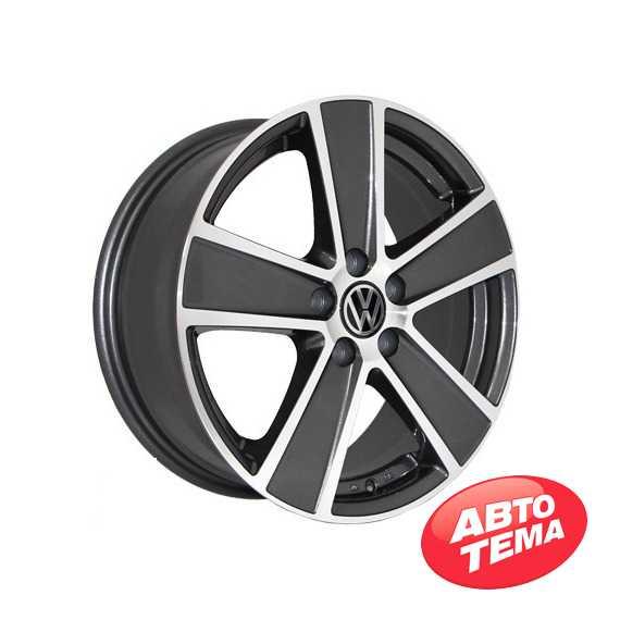REPLICA Volkswagen 7389 MK-P - Интернет магазин шин и дисков по минимальным ценам с доставкой по Украине TyreSale.com.ua