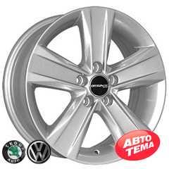 Купить ZY REPLICA Skoda 5125 S R15 W6 PCD5x100 ET38 DIA57.1
