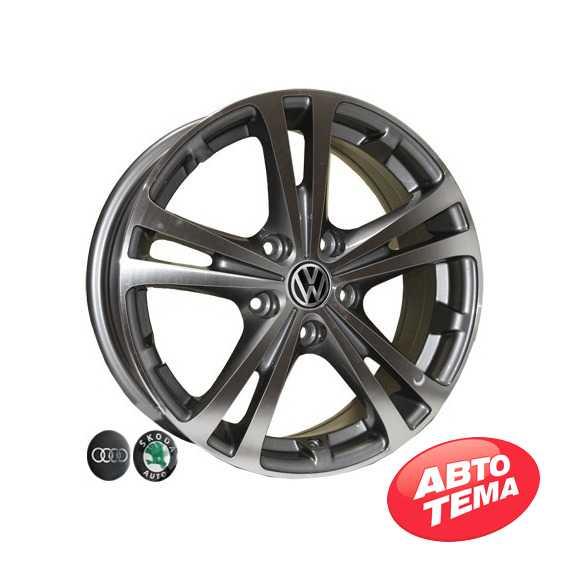 REPLICA Audi Z616 DGMF - Интернет магазин шин и дисков по минимальным ценам с доставкой по Украине TyreSale.com.ua