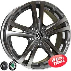 Купить REPLICA VW Z616 DGMF R16 W6.5 PCD5x112 ET42 DIA57.1