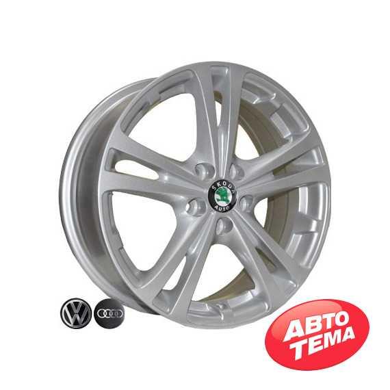 REPLICA Skoda Z616 S - Интернет магазин шин и дисков по минимальным ценам с доставкой по Украине TyreSale.com.ua