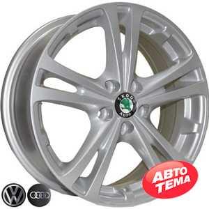 Купить REPLICA VW Z616 S R15 W6 PCD5x100 ET43 DIA57.1