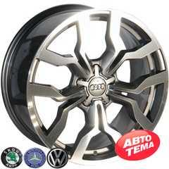 REPLICA Audi 566 GMF - Интернет магазин шин и дисков по минимальным ценам с доставкой по Украине TyreSale.com.ua