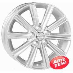 REPLICA Toyota JT1377 Silver - Интернет магазин шин и дисков по минимальным ценам с доставкой по Украине TyreSale.com.ua