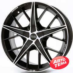 OZ QUARANTA MATT BLACK DIAMOND CUT - Интернет магазин шин и дисков по минимальным ценам с доставкой по Украине TyreSale.com.ua