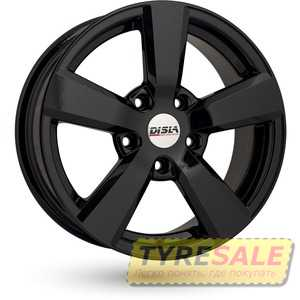 Купить DISLA Formula 503 Black R15 W6.5 PCD4x108 ET35 DIA72.6