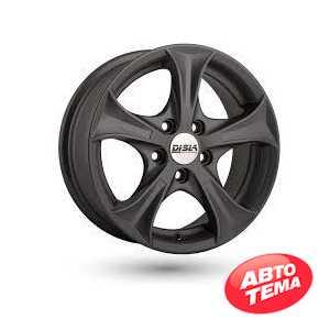 Купить DISLA Luxury 406 GM R14 W6 PCD5x100 ET37 DIA57.1