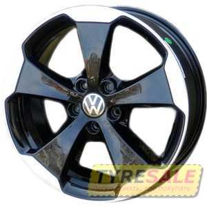 Купить WSP Italy W465 Laceno VO65 Glossy Black Polished R18 W7.5 PCD5x112 ET51 DIA57.1