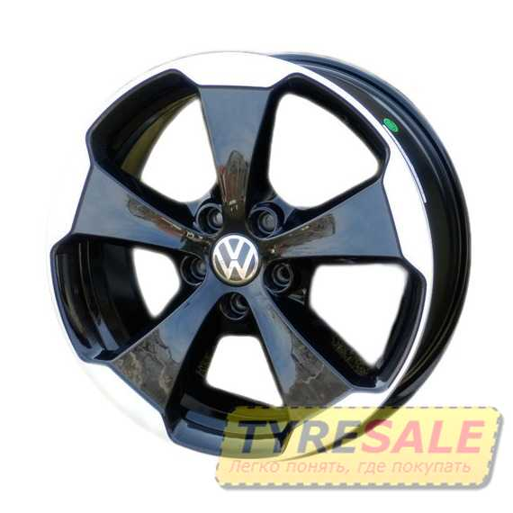 WSP Italy W465 Laceno VO65 Glossy Black Polished - Интернет магазин шин и дисков по минимальным ценам с доставкой по Украине TyreSale.com.ua