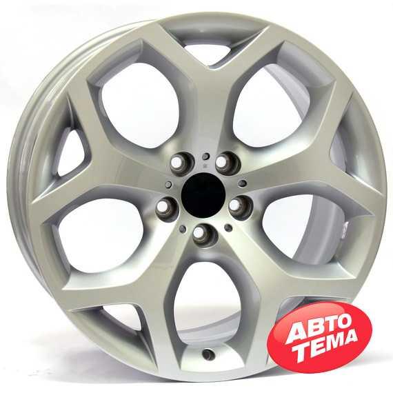 Купить WSP Italy W667 X5 Hotbird Silver R18 W8 PCD5x120 ET43 DIA72.6