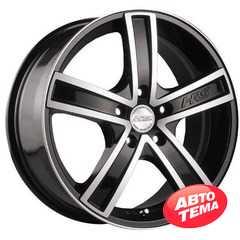 Купить RW (RACING WHEELS) H-412 BK/FP R15 W6.5 PCD4x100 ET40 DIA67.1