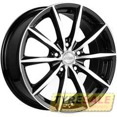 Купить RW (RACING WHEELS) H 536 BKFP R15 W6.5 PCD5x112 ET40 DIA57.1