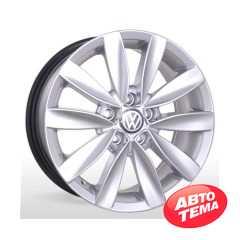 REPLICA BKR 481 Silver - Интернет магазин шин и дисков по минимальным ценам с доставкой по Украине TyreSale.com.ua