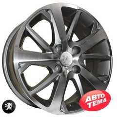 REPLICA PEUGEOT Z1039 DGMF - Интернет магазин шин и дисков по минимальным ценам с доставкой по Украине TyreSale.com.ua