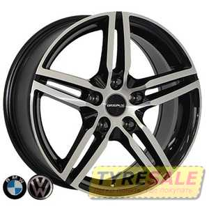 Купить REPLICA BMW Z1073 BMF R17 W7.5 PCD5x120 ET35 DIA74.1