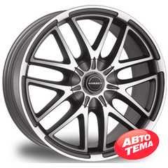 BORBET XA (Anthracite) - Интернет магазин шин и дисков по минимальным ценам с доставкой по Украине TyreSale.com.ua