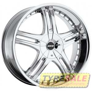 Купить MI-TECH (MKW) M-105 CHROME R18 W7.5 PCD5x114.3/120 ET40 DIA74