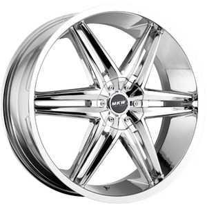 Купить MI-TECH (MKW) M-106 CHROME R18 W7.5 PCD5x112/114. ET40 DIA73.1