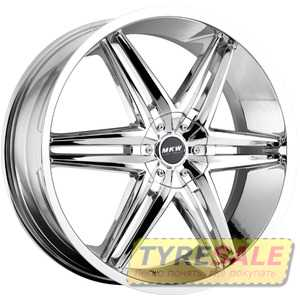 Купить MI-TECH (MKW) M-106 CHROME R18 W7.5 PCD5x112/114. ET40 DIA73.1