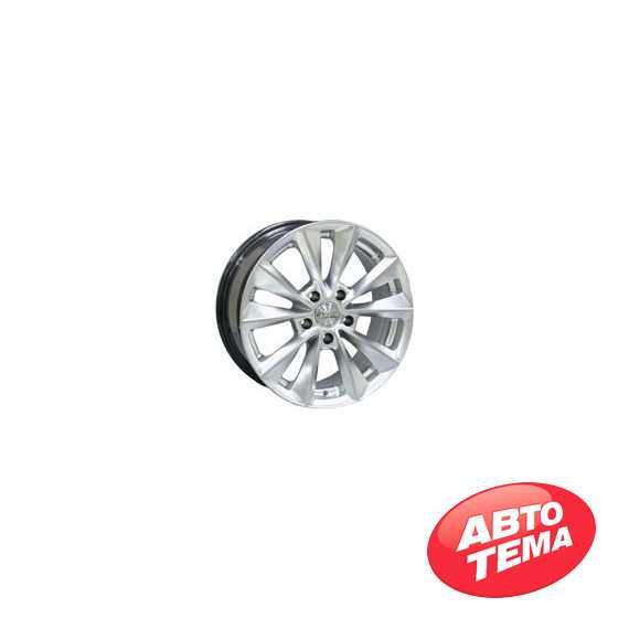 RW (RACING WHEELS) H 393 Silver - Интернет магазин шин и дисков по минимальным ценам с доставкой по Украине TyreSale.com.ua