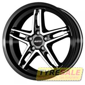 Купить ALUTEC POISON Black MP R16 W7 PCD5x108 ET48 DIA70.1
