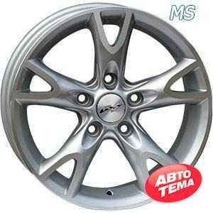 Купить RS WHEELS Wheels Tuning 518J MS R15 W6.5 PCD5x114.3 ET35 DIA67.1