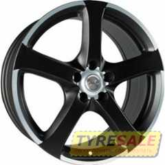 Купить AVUS AF3 Matt Black Polished R16 W7 PCD5x112 ET35 DIA73.1