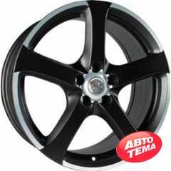 AVUS AF3 MATT BLACK POLISHED - Интернет магазин шин и дисков по минимальным ценам с доставкой по Украине TyreSale.com.ua