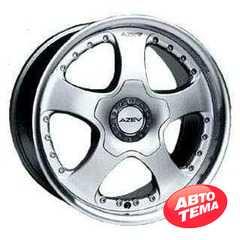 AZEV LS Matt Race Silver - Интернет магазин шин и дисков по минимальным ценам с доставкой по Украине TyreSale.com.ua