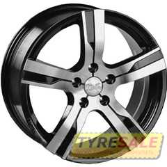 Купить ALEKS F023 BF R17 W7.5 PCD5x114.3 ET45 DIA73.1