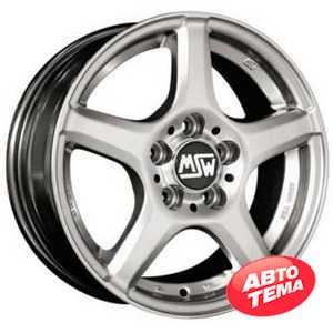 Купить MSW 14 Full Silver R15 W6.5 PCD5x108 ET45 DIA73.1