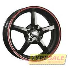 MSW 16 Gross Black Red Lip (GBRL) - Интернет магазин шин и дисков по минимальным ценам с доставкой по Украине TyreSale.com.ua