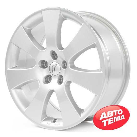 RONDELL 0045 Silber Lackiert - Интернет магазин шин и дисков по минимальным ценам с доставкой по Украине TyreSale.com.ua