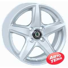 REPLICA Skoda JT 244R Silver - Интернет магазин шин и дисков по минимальным ценам с доставкой по Украине TyreSale.com.ua