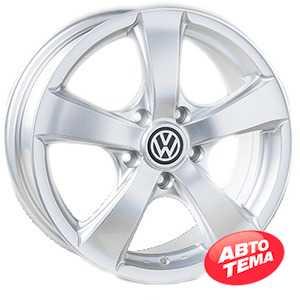 Купить REPLICA Volkswagen JT 1040 Silver R16 W7 PCD5x120 ET40 DIA65.1