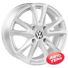 Купить REPLICA Volkswagen JT 2036 Silver R15 W6 PCD5x100 ET38 DIA57.1