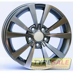 Купить Wheels Factory WVS4 GUN METAL MACHINED FACE R14 W6 PCD5x100 ET38 DIA57.1