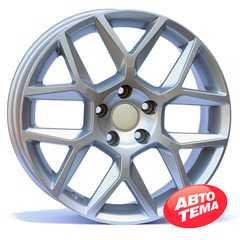 Купить Wheels Factory WVS2 SILVER R17 W7 PCD5x112 ET38 DIA57.1