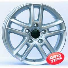 Купить Wheels Factory WVS5 SILVER R17 W7.5 PCD5x130 ET55 DIA71.6