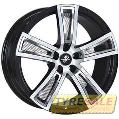 Купить FONDMETAL Tech 6 Black Polished R18 W8 PCD5x114.3 ET30 DIA67.1