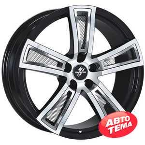 Купить FONDMETAL Tech 6 Black Polished R18 W8 PCD5x120 ET40 DIA72.6