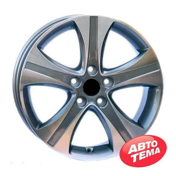 Replica WheelsFactory WHD2 GM - Интернет магазин шин и дисков по минимальным ценам с доставкой по Украине TyreSale.com.ua