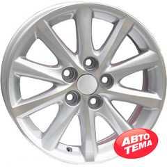 REPLICA Toyota AR 237 Silver - Интернет магазин шин и дисков по минимальным ценам с доставкой по Украине TyreSale.com.ua