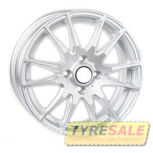 Купить REPLICA Kia JT1487 Silver R15 W5.5 PCD4x100 ET38 DIA67.1