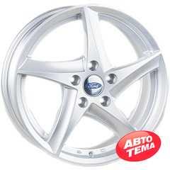 Купить REPLICA Ford JT 1434 Silver R16 W6.5 PCD5x108 ET50 DIA63.4